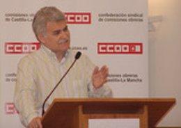 El secretario regional de CCOO