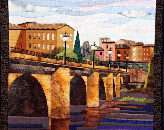 Almazuela puente Logroño