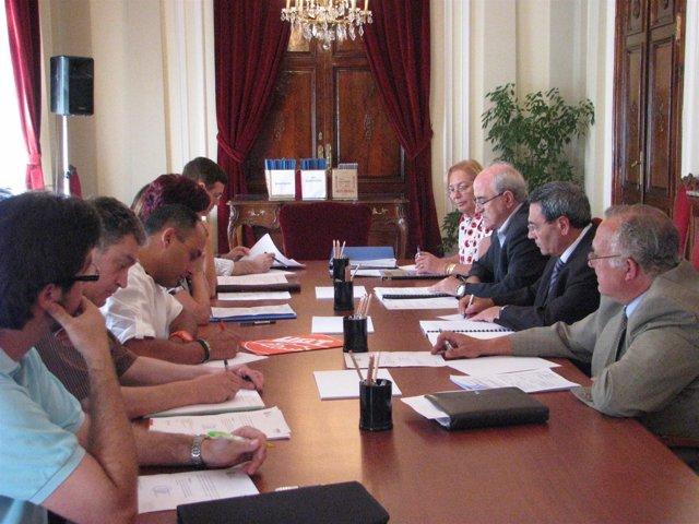Reunión de la comisión de seguimiento del Plan Especial de Empleo para Aragón 20