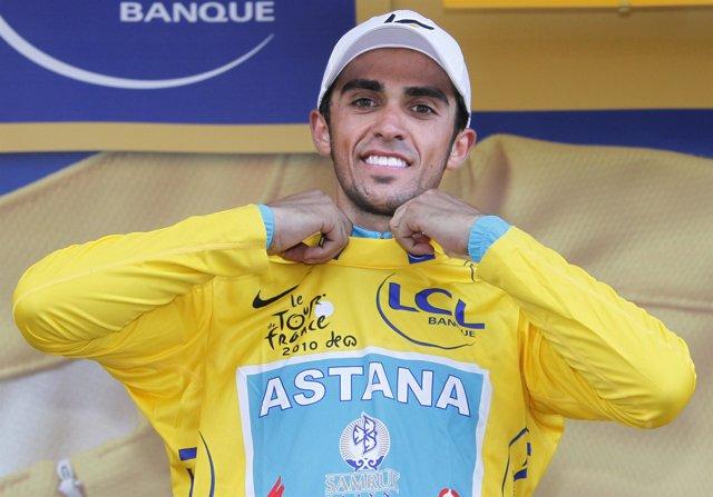 Contador de amarillo