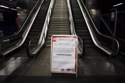 Los locales comerciales de Metro estiman pérdidas de 700.000 euros por los paros