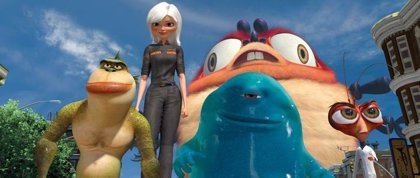 Canal+ estrena la película de animación 'Monstruos contra alienígenas'