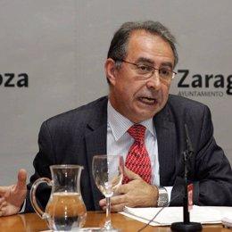 Fernando Gimeno, Consejero municipal de Zaragoza