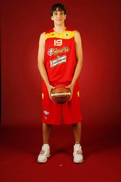 """Baloncesto/Mundial.- Carlos Suárez: """"Estoy muy contento y voy con la máxima ambición para estar en Turquía"""""""