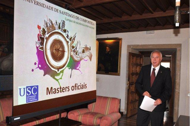 Juan Casares Long presenta los másteres oficiales de la USC