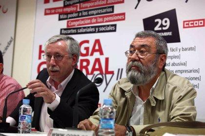 Toxo y Méndez intervendrán el 2 de septiembre en Valladolid en una asamblea con delegados previa a la huelga del 29
