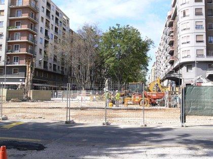 El Ayuntamiento estudia una solución para evitar el ruido que provocan las obras de la estación de Goya
