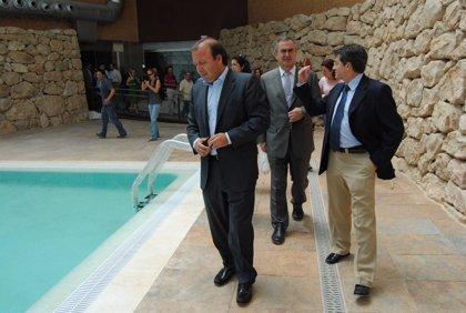 Mesquida visita la última fase de las obras del Parador de Lorca, que podría inaugurarse en el segundo semestre de 2011