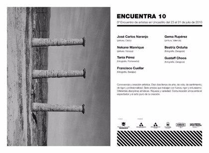 La Fundación Uncastillo celebra la quinta edición del Encuentro de Artistas 'Encuentra 10' y 'Encuentrambar'