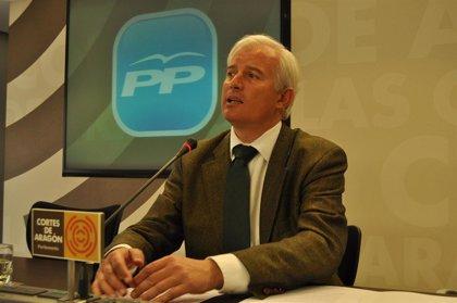 El PP pide un pleno extraordinario en las Cortes de Aragón para que Marcelino Iglesias valore los recortes de Fomento