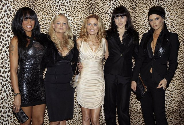 El grupo británico Spice Girls