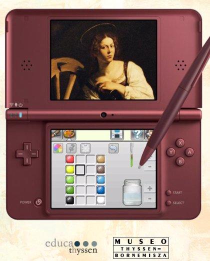 Nintendo DS invita a un taller de pintura en el Thyssen