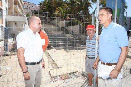 Arona (Tenerife) invierte casi 200.000 en rehabilitar el entorno de la plaza Pedro García Cabrera