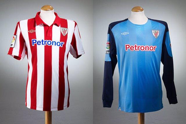 Fútbol.- El Athletic presenta la nueva indumentaria para la próxima ... 37d7fc2c85893