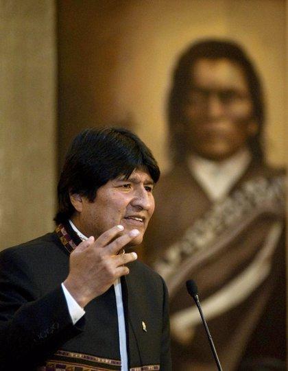 """Evo Morales alerta de la """"sofisticación"""" de los narcotraficantes"""