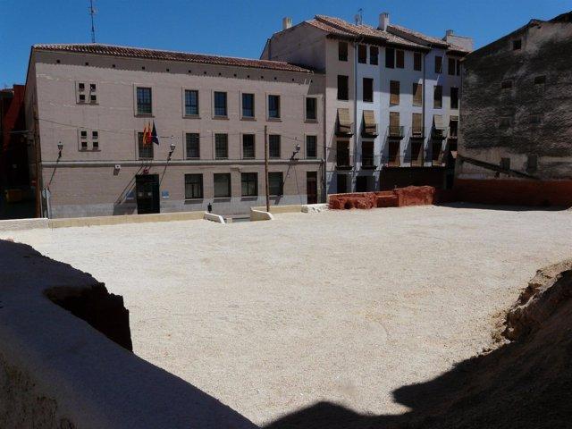 Nueva zona de estacionamiento en Calatayud