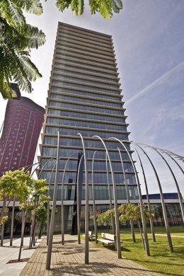 Torre de oficinas de Realia en Barcelona