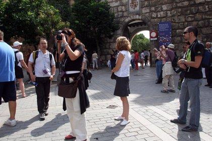 El gasto de los turistas internacionales aumentó un 0,1% en el primer semestre