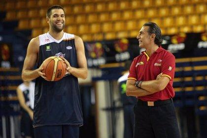 Baloncesto/Mundial.- España prepara para mañana una sesión de puertas abiertas en el Centro Insular de Deportes