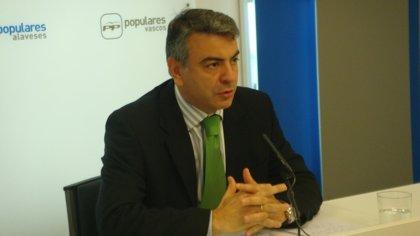 """PP alavés acusa a Prieto de pasar de ser """"un tigre"""" en la oposición a """"un gatito en manos de los nacionalistas"""""""