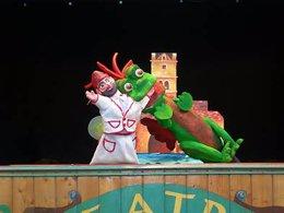 Imagen de la función en Teatro Arbolé