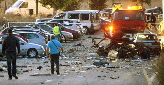 Recurso del atentado de ETA en Burgos