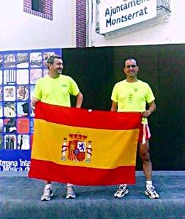 Los dos atletas que han corrido por La Roja