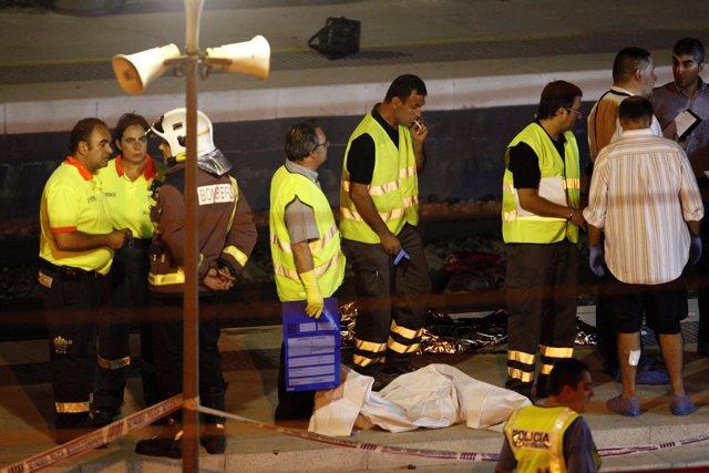 Accidente de Castelldefels
