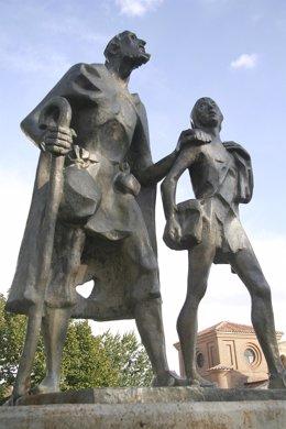 Monumento al Lazarillo de Tormes en Salamanca