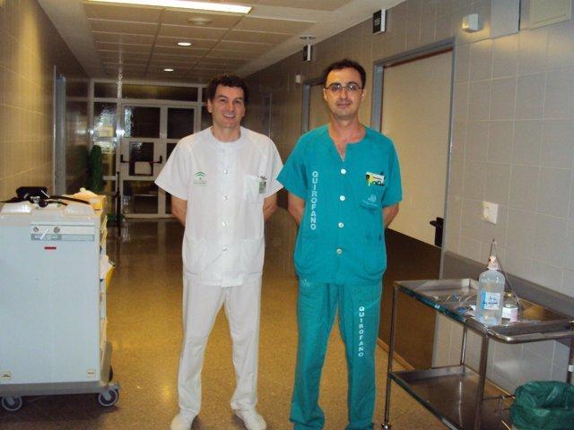 Doctores de Cuidados de Hematología del Virgen del Rocio