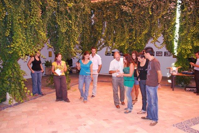 Participantes en los cursos de Carmona