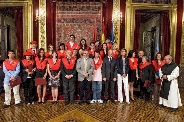 Miguel Sanz clausura el XIII Curso Internacional Navarra.