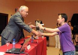Biel clausura un curso de verano de la Universidad de Zaragoza en Jaca (Huesca)