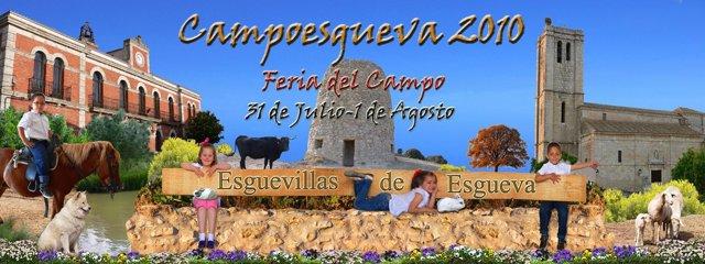 Cartel de Campoesgueva.