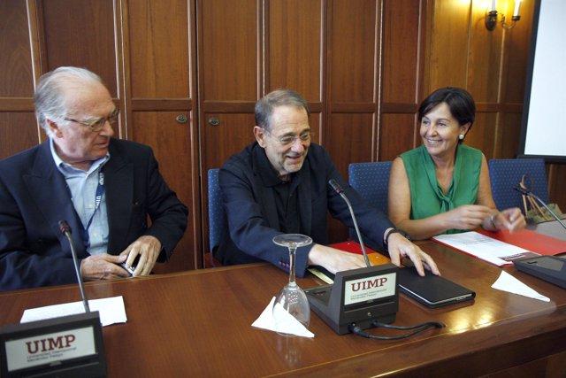Satorius, Solana y Gorostiaga en la UIMP