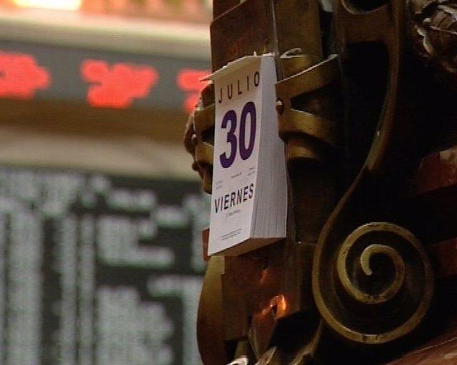 El Ibex 35 abre con caída del 0,45%