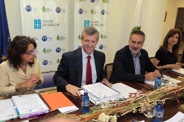 O conselleiro de Presidencia, Administracións Públicas e Xustiza, Alfonso Rueda,