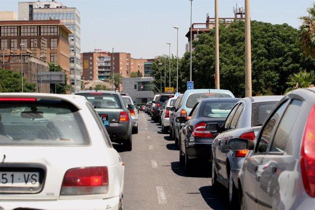 El tráfico rodado es uno de los principales problemas de la ciudad.