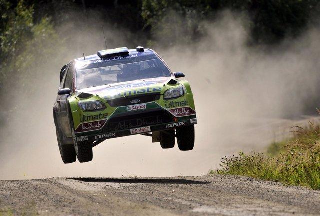 El piloto finlandés Jari-Matti Latvala