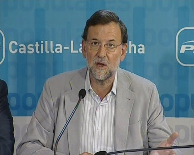 Rajoy asegura que los datos son terribles
