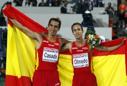 Casado y Olmedo, oro y bronce, brillan en el 1.500