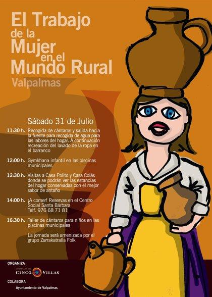 La Ruta de Oficios y Tradiciones muestra en Valpalmas el trabajo de la mujer en el mundo rural