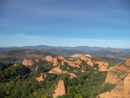 Las Médulas, en la comarca leonesa de El Bierzo, representan la mayor mina a cielo abierto del Imperio Romano