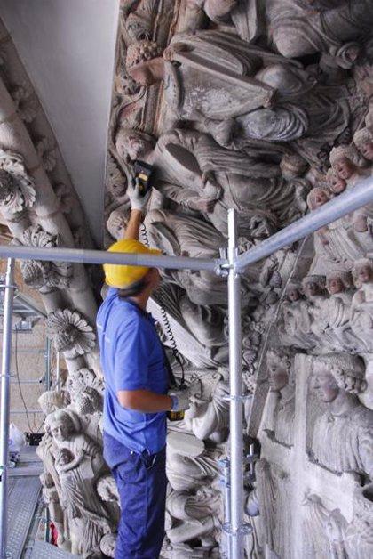 La Catedral de Santiago inicia este lunes ocho visitas virtuales histórico-didácticas diarias al Pórtico de la Gloria