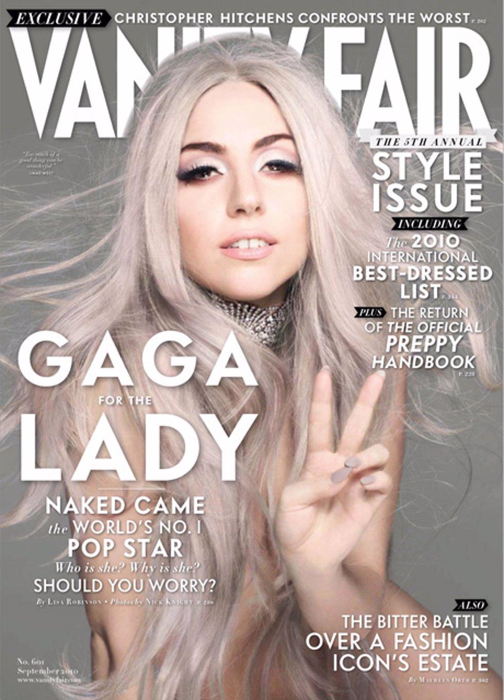 Lady Gaga para Vanity Fair