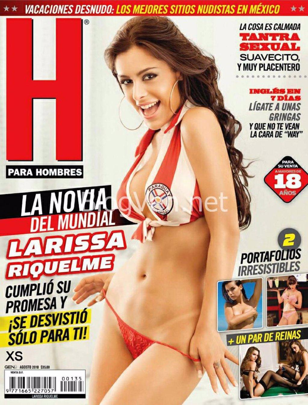 Larissa Riquelme promete desnudarse si El Salvador