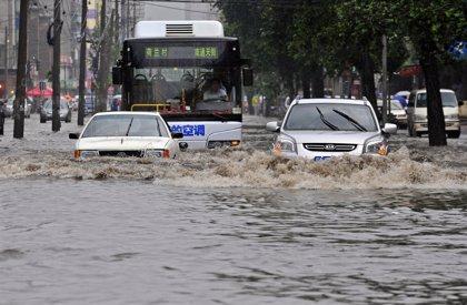 Las inundaciones en China han provocado 1.072 muertos