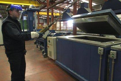 La producción industrial aumenta un 14,7% en junio en Cantabria, casi cinco veces más que la media