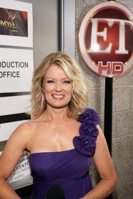 Mary Hart presentadora de Entertaiment Tonight