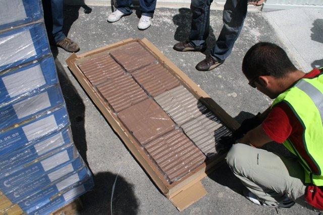 Droga incautada en la Operación Bricomanía.